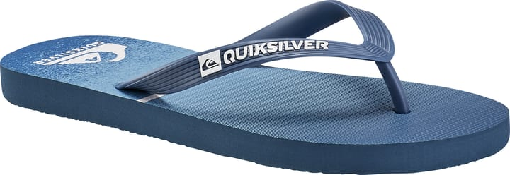 Diversion Logo Java Tongs pour homme Quiksilver 460664941040 Couleur bleu Taille 41 Photo no. 1