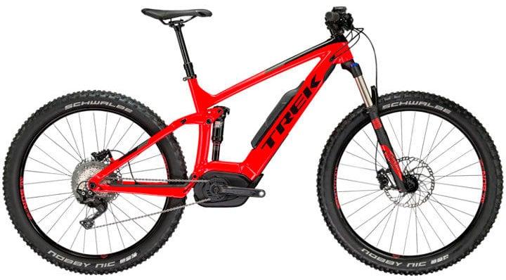 """Powerfly 7 FS 27.5"""" Vélo électrique (VTT) Trek 463313517530 Couleur rouge Tailles du cadre 17.5 Photo no. 1"""