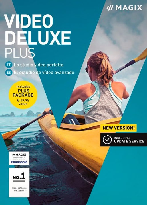 PC - Video deluxe 2018 Plus (I) Physisch (Box) Magix 785300129432 Bild Nr. 1