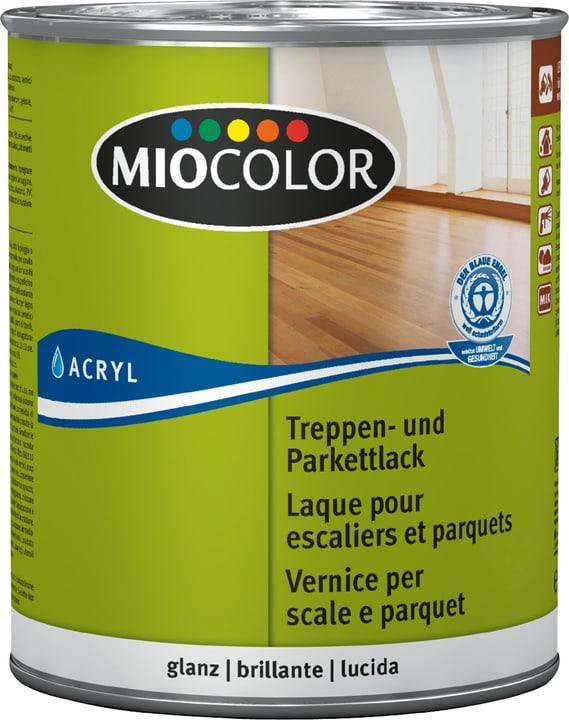 Treppen- und Parkettlack glanz Farblos 750 ml Miocolor 661118800000 Farbe Farblos Inhalt 750.0 ml Bild Nr. 1