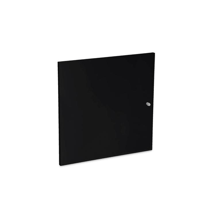 VIDO Türe klein 362010773703 Grösse B: 37.0 cm x T: 37.0 cm x H: 1.2 cm Farbe Schwarz Bild Nr. 1