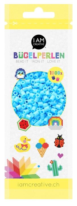 Perles à repasser bleu clair 1'000 pcs. 666540800100 Couleur Bleu clair Photo no. 1