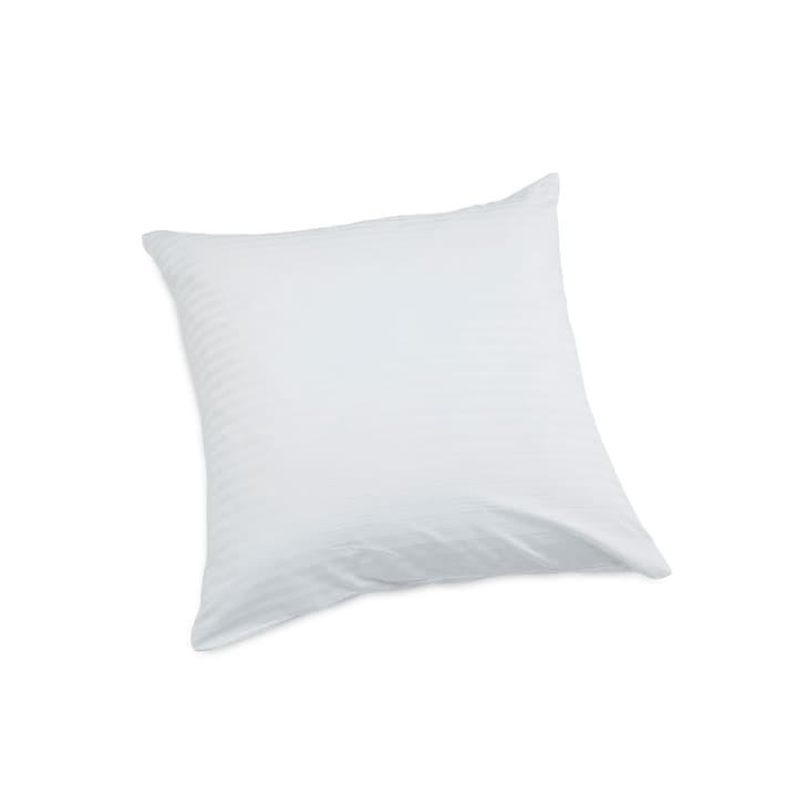 DAMAST Taie d'oreiller en satin 376003285411 Couleur Blanc Dimensions L: 65.0 cm x L: 65.0 cm Photo no. 1