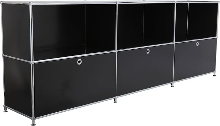 FLEXCUBE Buffet 401809600020 Dimensions L: 227.0 cm x P: 40.0 cm x H: 80.5 cm Couleur Noir Photo no. 1