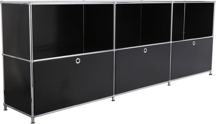 FLEXCUBE Buffet 401809600020 Dimensioni L: 227.0 cm x P: 40.0 cm x A: 80.5 cm Colore Nero N. figura 1