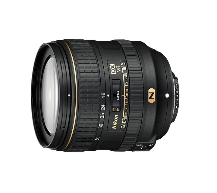 Nikkor AF-S DX 16-80 mm f/2,8-4E ED VR objectif / 3 ans de garantie Swiss Nikon 793420300000 Photo no. 1
