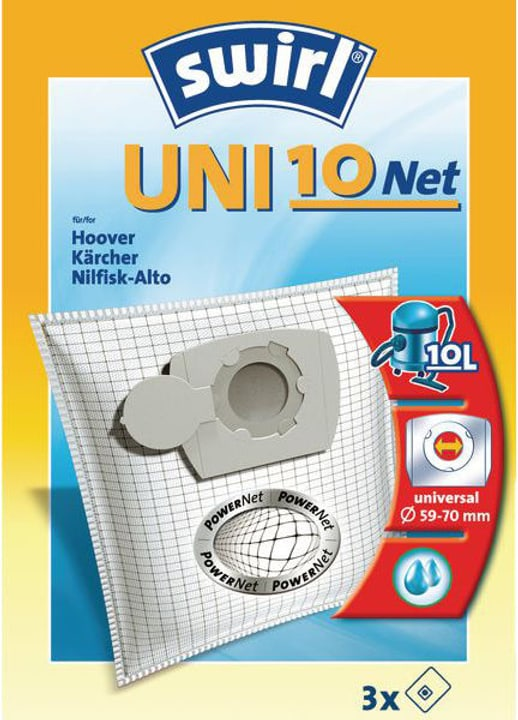 Sac filtre poussière UNI10 3 pièces Ai Swirl 785300143404 Photo no. 1