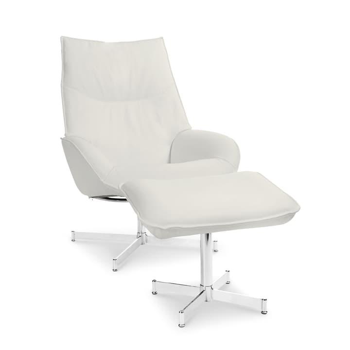 DAHLIA fauteuil et repose-pieds 360010347405 Dimensions L: 73.0 cm x P: 87.0 cm x H: 104.0 cm Couleur Beige Photo no. 1