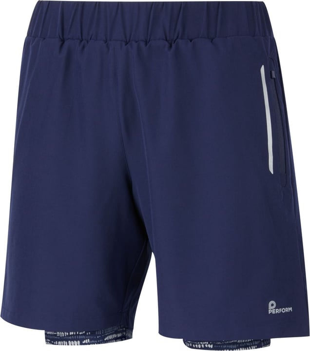 Short pour homme Perform 470172400643 Couleur bleu marine Taille XL Photo no. 1