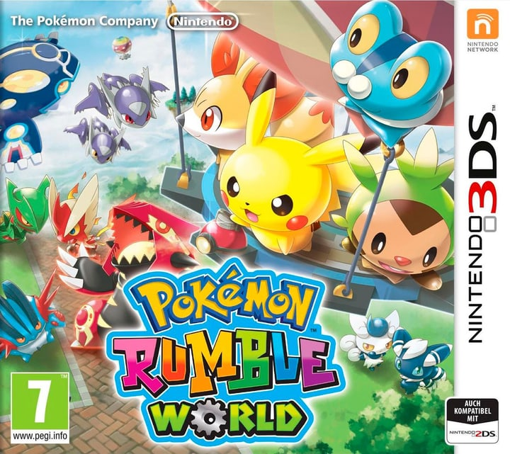 3DS - Pokémon Rumble World Physisch (Box) 785300120744 Bild Nr. 1