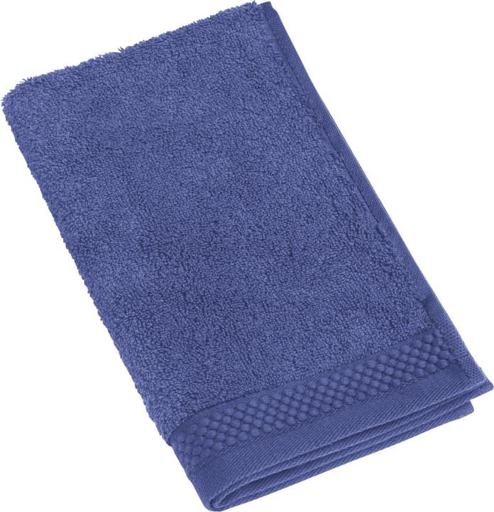 NEVA Serviette d'hote 450849720243 Couleur Bleu foncé Dimensions L: 30.0 cm x H: 50.0 cm Photo no. 1