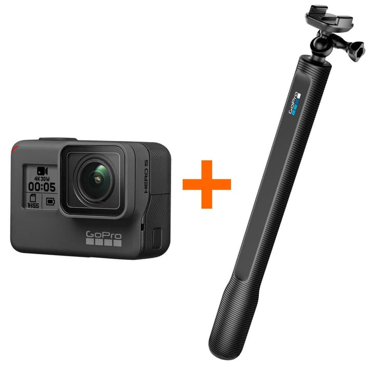 Hero5 Black+ ElGrandeStick Bundle Actioncam Bundle GoPro 793827900000 Photo no. 1