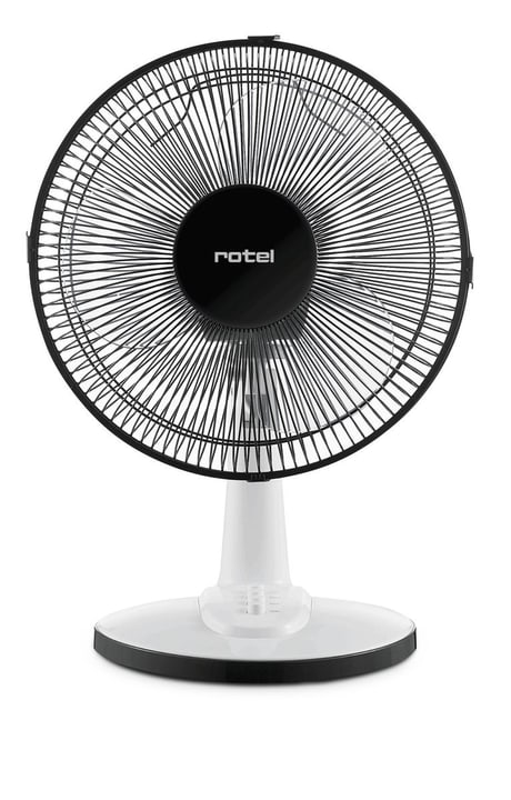 7572CH blanc/noir Ventilateur Rotel 785300128421 Photo no. 1