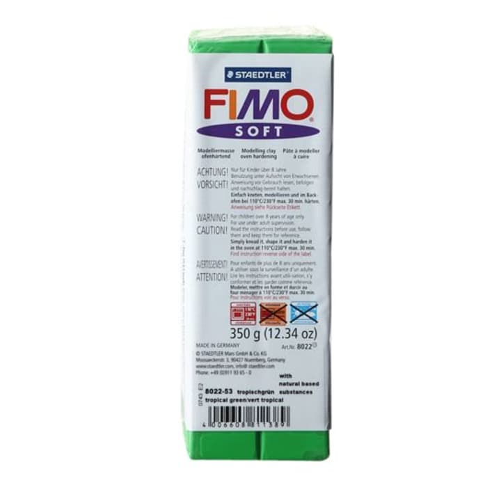 Soft grossbl.grãœn Fimo 665306100000 Farbe Grün Bild Nr. 1