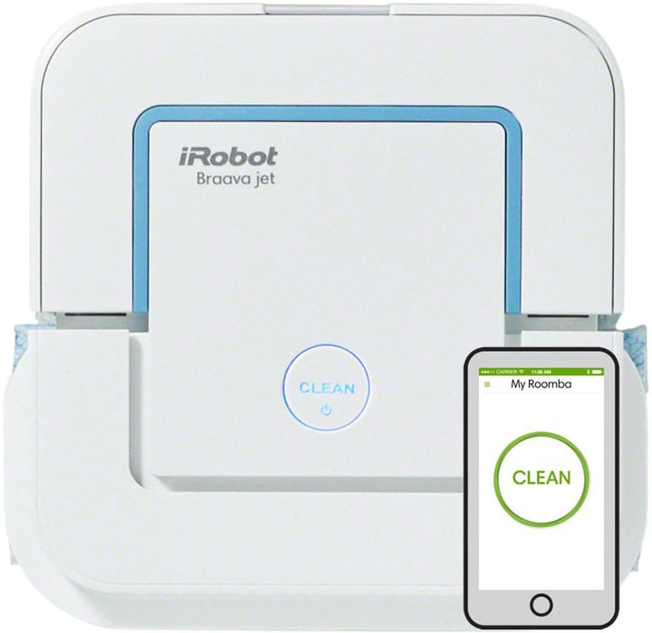 Braava Jet 240 Nettoyage de Sol iRobot 785300129982 Photo no. 1