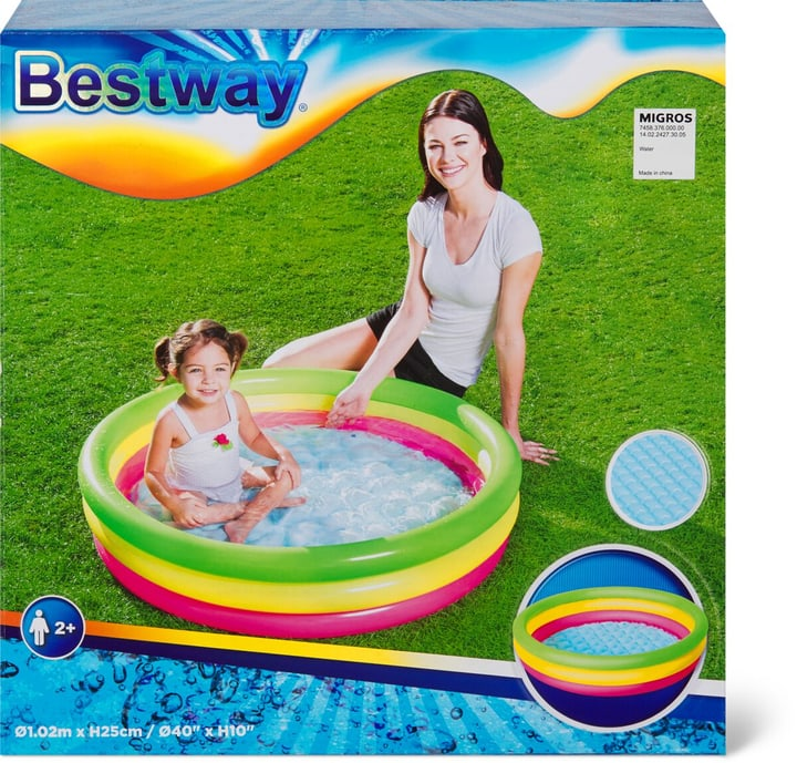"Planschbecken ""Summer Set Pool"" 3-Ringe Planschbecken Bestway 745837600000 Bild Nr. 1"