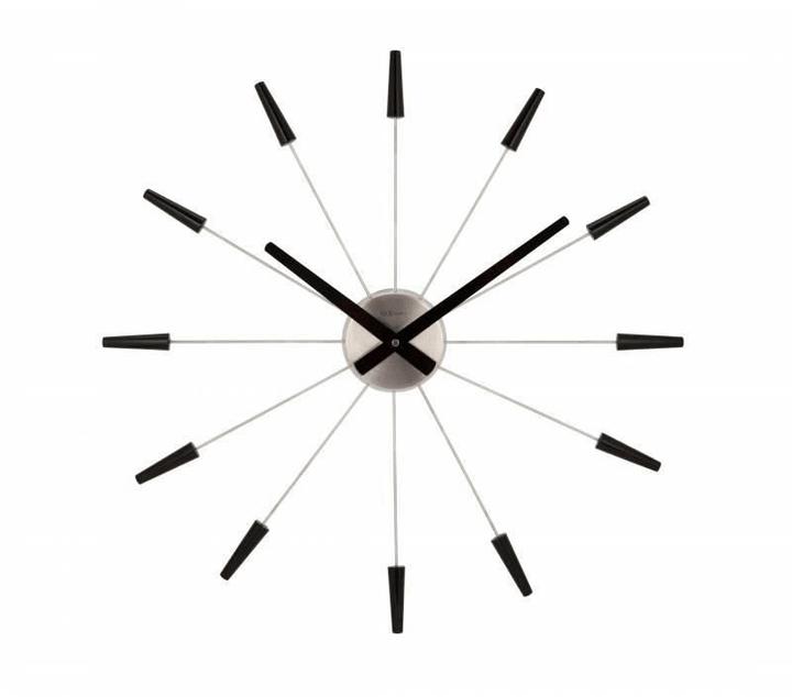 Orologio da parete Plug Inn Black Durchme Horologe murale NexTime 785300140000 N. figura 1