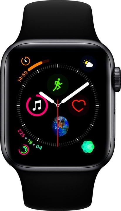 Watch Serie 4 40mm GPS space gray Aluminum Black Sport Band Smartwatch Apple 798455400000 Photo no. 1