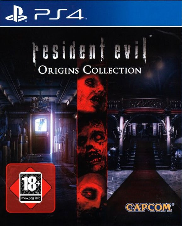 PS4 - Resident Evil Origins Collection Box 785300122024 Bild Nr. 1