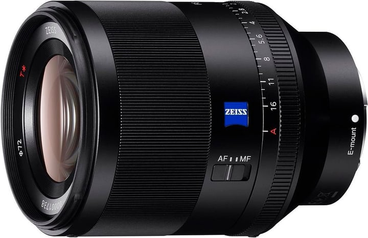 E-Mount FF 50mm Zeiss F1.4 objectif Objectif Sony 785300125845 Photo no. 1