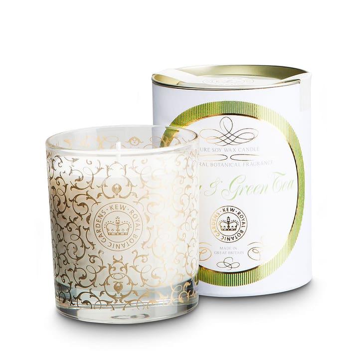 KEW GARDEN Duftkerze im Glas Yuzu/Grüner Tee 400g 396045600000 Inhalt 400.0 g Duft Yuzu, Grüntee Bild Nr. 1