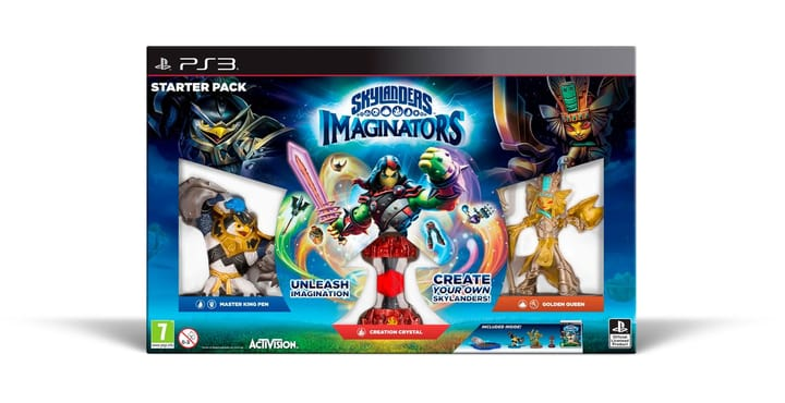 PS3 - Skylanders Imaginators Starter Pack 785300121335 Photo no. 1
