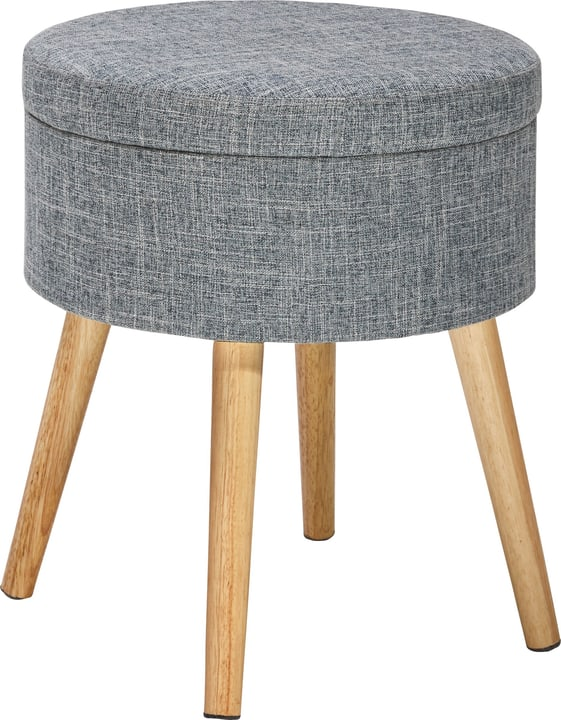 RORY Pouf 402472100000 Couleur Gris Dimensions H: 42.0 cm Photo no. 1