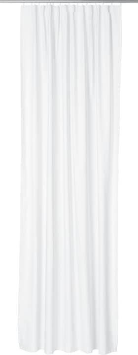 ANA BLACKOUT Rideau prêt à poser occultant 430275422010 Couleur Blanc Dimensions L: 135.0 cm x H: 270.0 cm Photo no. 1
