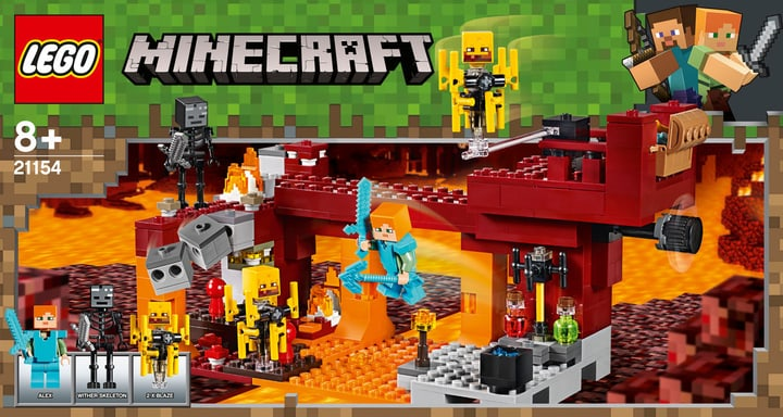LEGO MINECRAFT 21154 Le pont de Blaze 748720700000 Photo no. 1