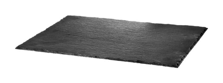 NERO Piatto in ardesia 440601000500 Colore Nero Dimensioni L: 30.0 cm x P: 40.0 cm x A: 0.5 cm N. figura 1