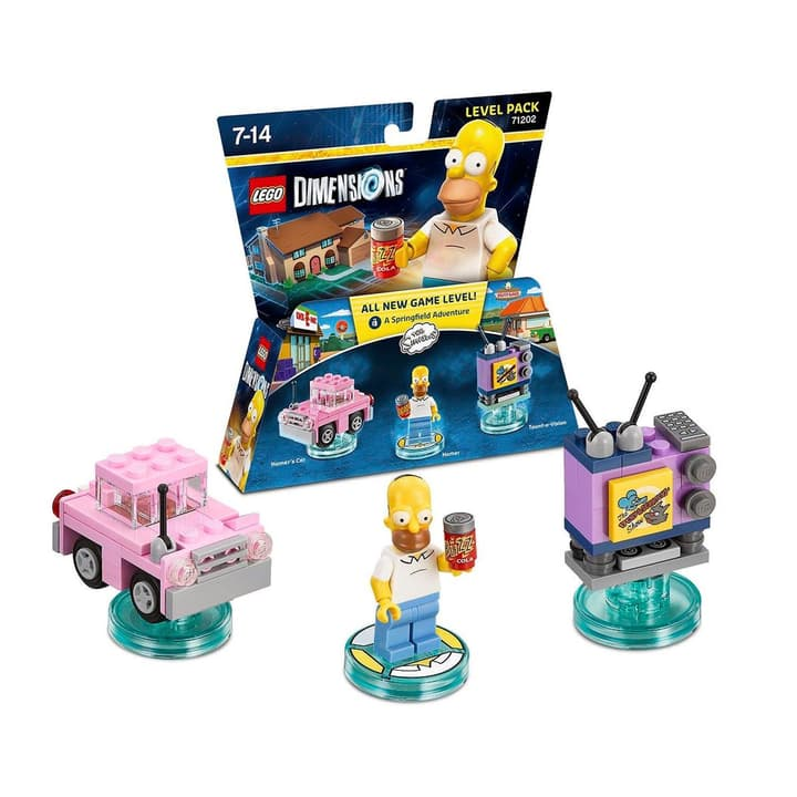 LEGO Dimensions Level Pack The Simpsons Box 785300120114 N. figura 1