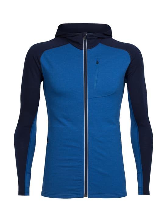 Quantum Hood Veste en polaire pour homme Icebreaker 462784000340 Couleur bleu Taille S Photo no. 1