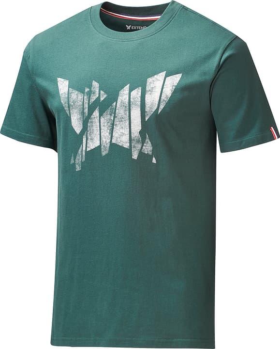 T-Shirt broken extend logo Herren-T-Shirt Extend 462387000763 Farbe Dunkelgrün Grösse XXL Bild-Nr. 1