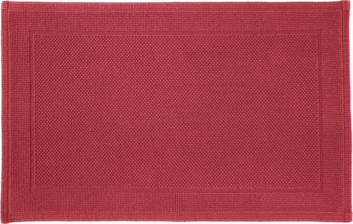 NAVE Tapis en tissu éponge 450854721530 Couleur Rouge Dimensions L: 50.0 cm x H: 80.0 cm Photo no. 1