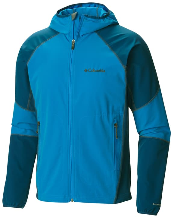 Sweet As II Veste softshell pour homme Columbia 462773300542 Couleur bleu azur Taille L Photo no. 1