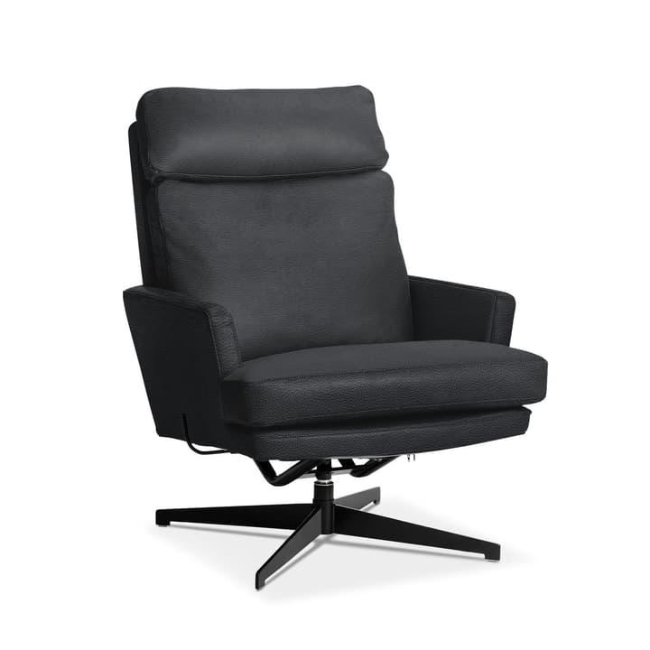 AIDEN Sessel 360040871306 Grösse B: 75.0 cm x T: 90.0 cm x H: 105.0 cm Farbe Schwarz Bild Nr. 1