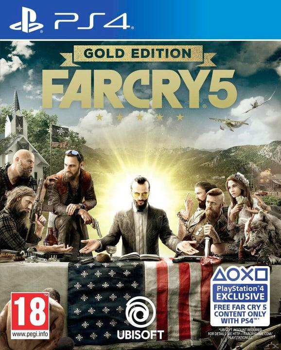 PS4 - Far Cry 5 - Gold Edition Physisch (Box) 785300129213 Bild Nr. 1