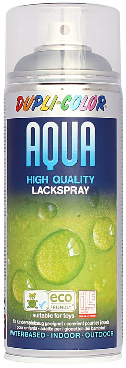 Aqua Lackspray argente Dupli-Color 665552600000 N. figura 1