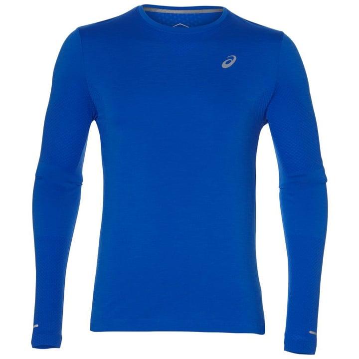 Seamless LS Herren-Langarmshirt Asics 470179500340 Farbe blau Grösse S Bild-Nr. 1