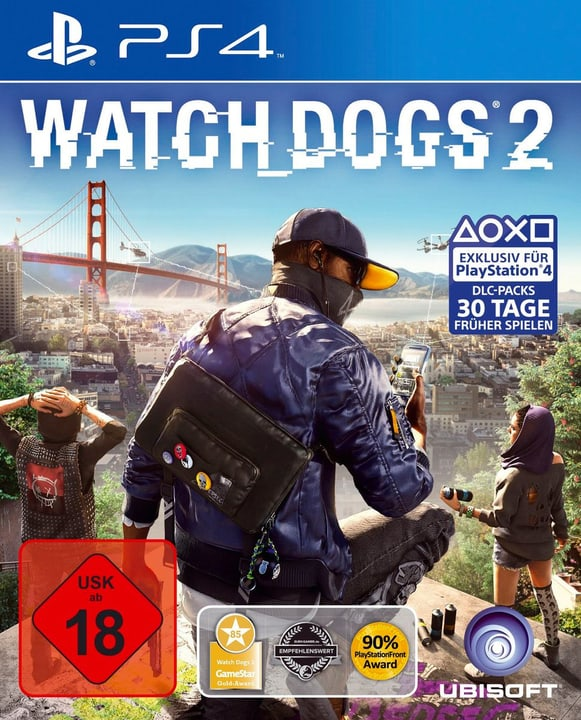 PS4 - Watch Dogs 2 D Box 785300147473 Photo no. 1