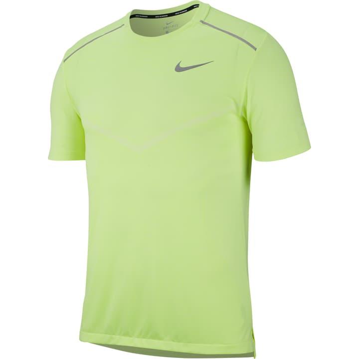 TechKnit Cool Ultra Shirt pour homme Nike 470190400555 Couleur jaune néon Taille L Photo no. 1