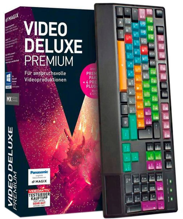 PC - Video deluxe 2018 Control (D) Physique (Box) Magix 785300129413 Photo no. 1