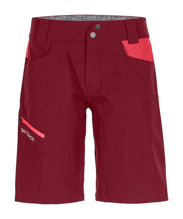 Pelmo Shorts pour femme Ortovox 465711500333 Couleur dunkelrot Taille S Photo no. 1