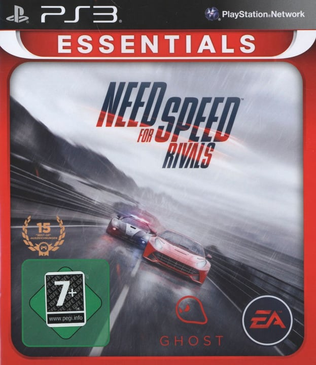PS3 - Need for Speed Rivals Physique (Box) 785300121610 Photo no. 1