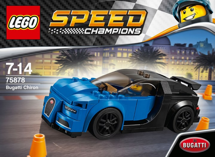 LEGO Speed Champions Bugatti Chiron 75878 748838900000 Photo no. 1