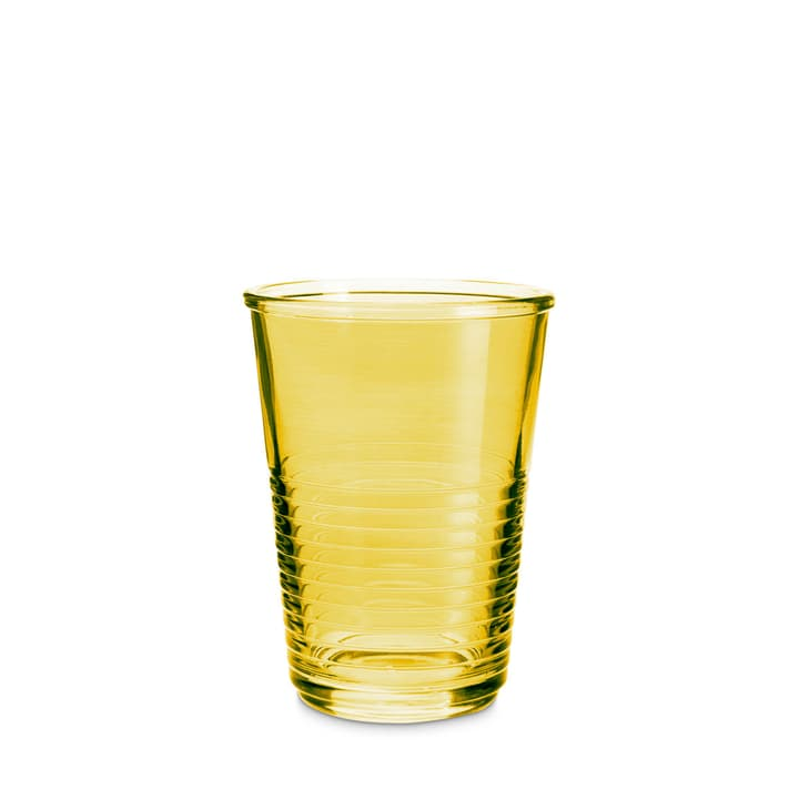 MACAO Verre à eau 393013600000 Dimensions L: 8.0 cm x P: 8.0 cm x H: 10.5 cm Couleur Jaune Photo no. 1