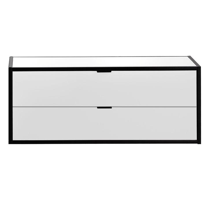 SEVEN Cassetto con coperchio Edition Interio 360985100000 Dimensioni L: 90.0 cm x P: 38.0 cm x A: 35.0 cm Colore Bianco N. figura 1