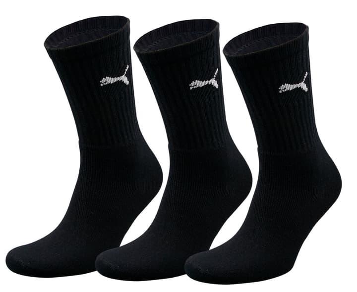 3er Pack Unisex-Sportsocken Puma 497117600120 Grösse 35-38 - schwarz Bild-Nr. 1