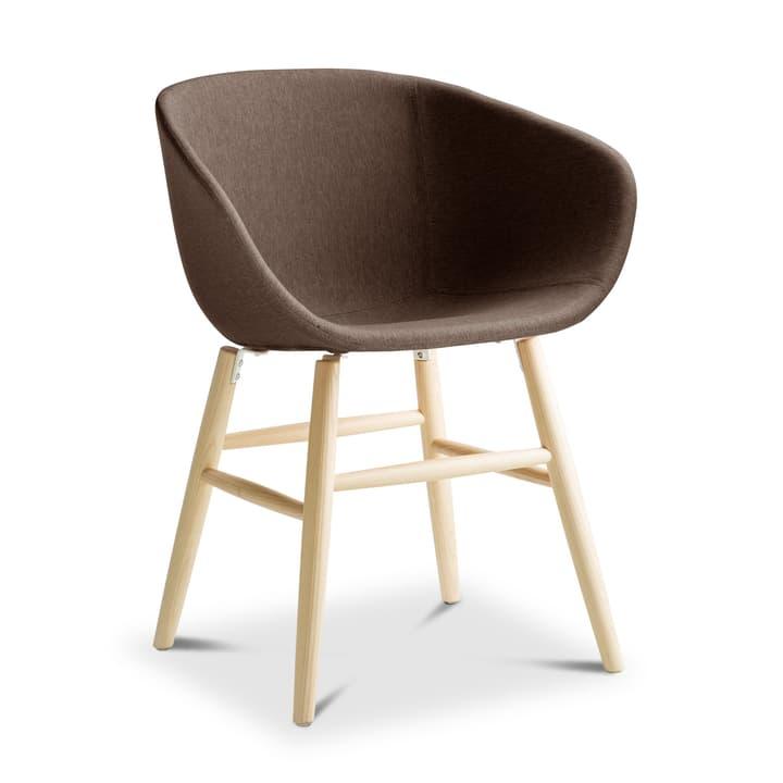 SEDIA Chaise avec accoudoirs 366185900000 Dimensions L: 45.0 cm x P: 58.0 cm x H: 87.5 cm Couleur Brun Photo no. 1