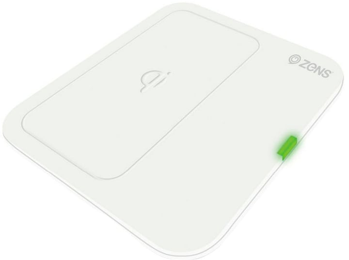Single Wireless Charger (EU) white Ladegerät Zens 798602600000 Bild Nr. 1